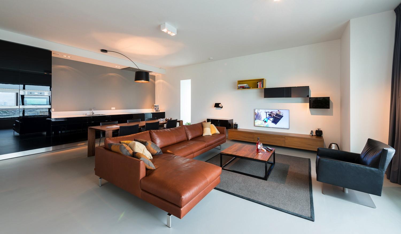 ontwerpburo OE! - Volwassen appartement op beperkt oppervlak - Strak ...